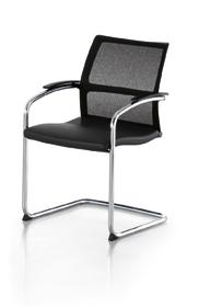sedus open up freischwinger. Black Bedroom Furniture Sets. Home Design Ideas